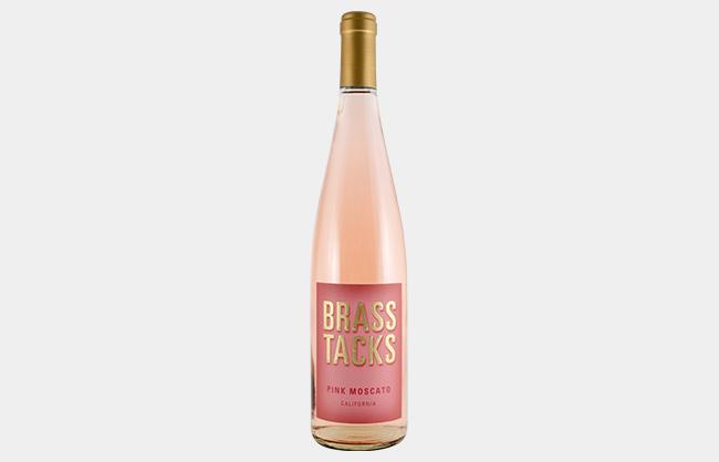 Brass Tacks Pink Moscato