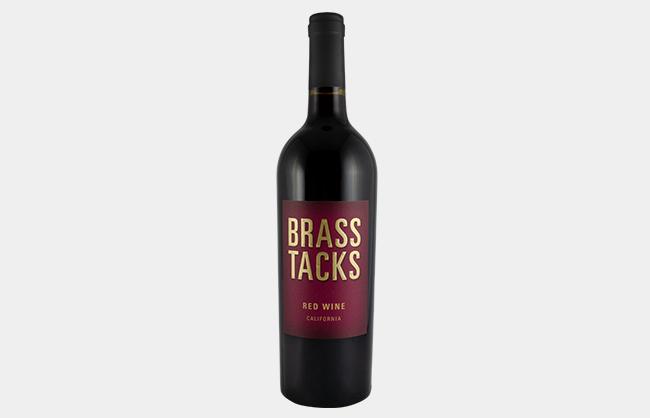 Brass Tacks Red Wine
