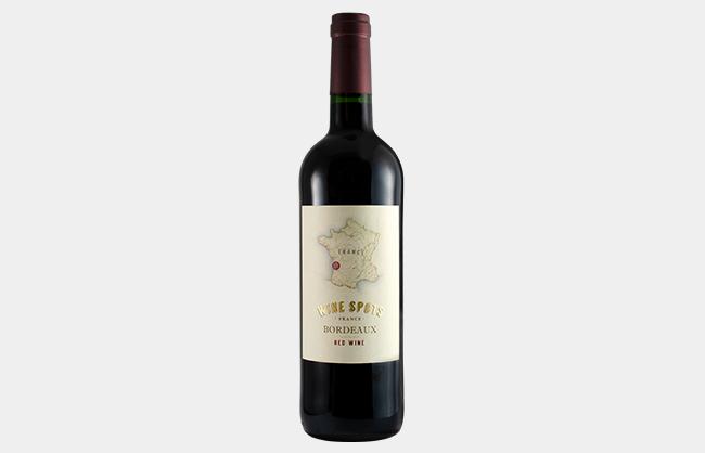 Wine Spots Bordeaux Red Wine