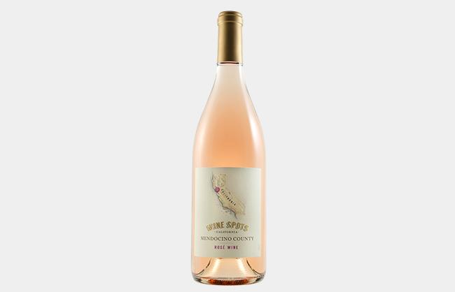 Wine Spots Mendocino County Rose